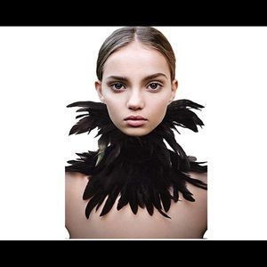 💜 Real Feathers Choker ❤️